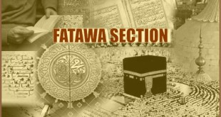 fatawa section